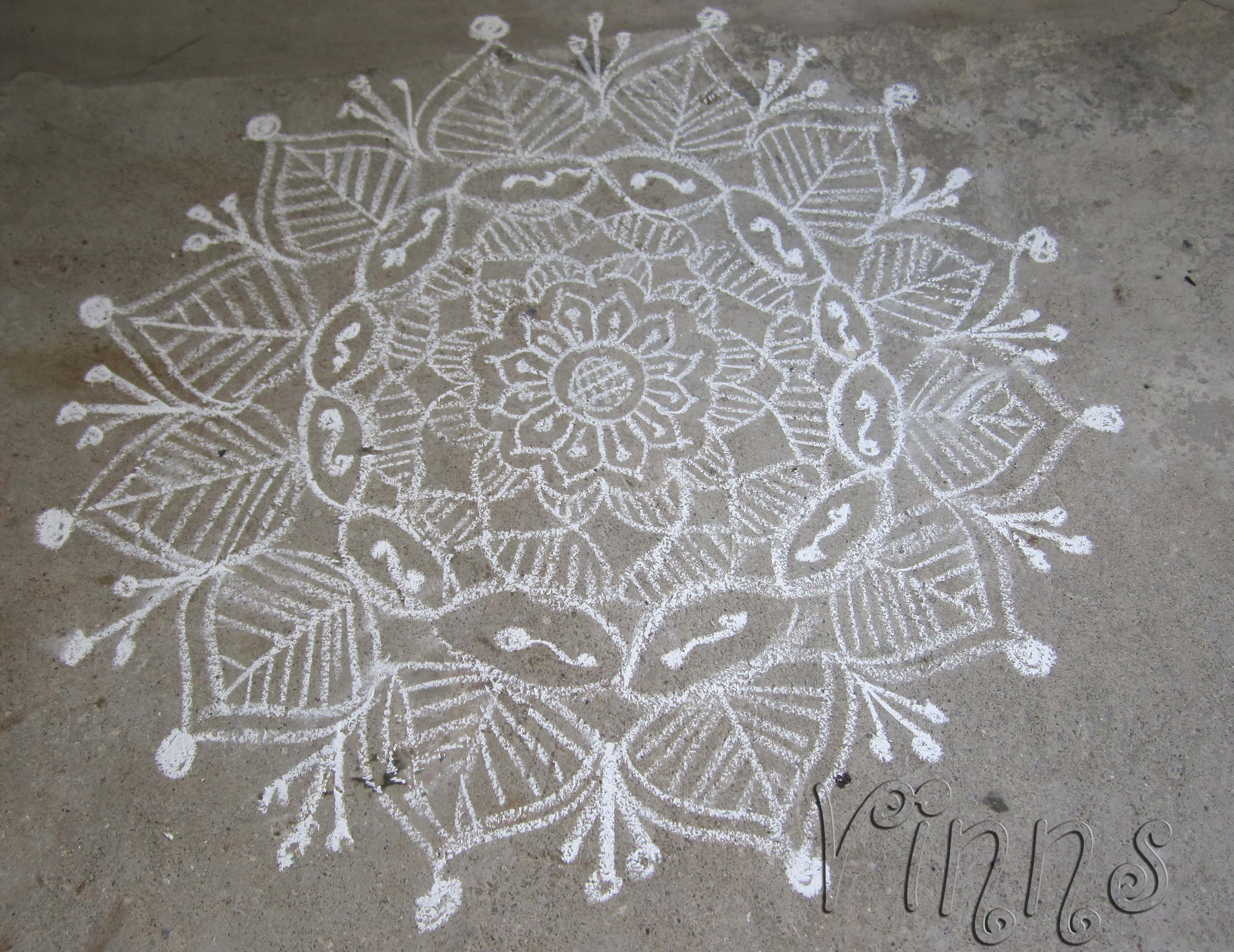Freestyle Kolam