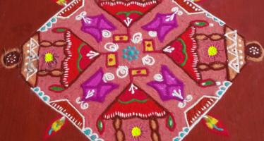 ratham Muggulu, rangoli