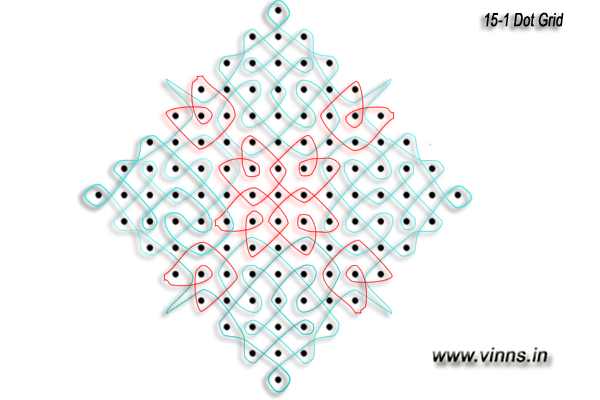 15_dots_sikku_colour_kolam