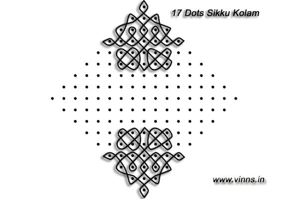 17_dots_sikku_kolam