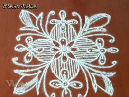 9 Dots Kolam, Chukkala Muggulu, Dots Rangoli