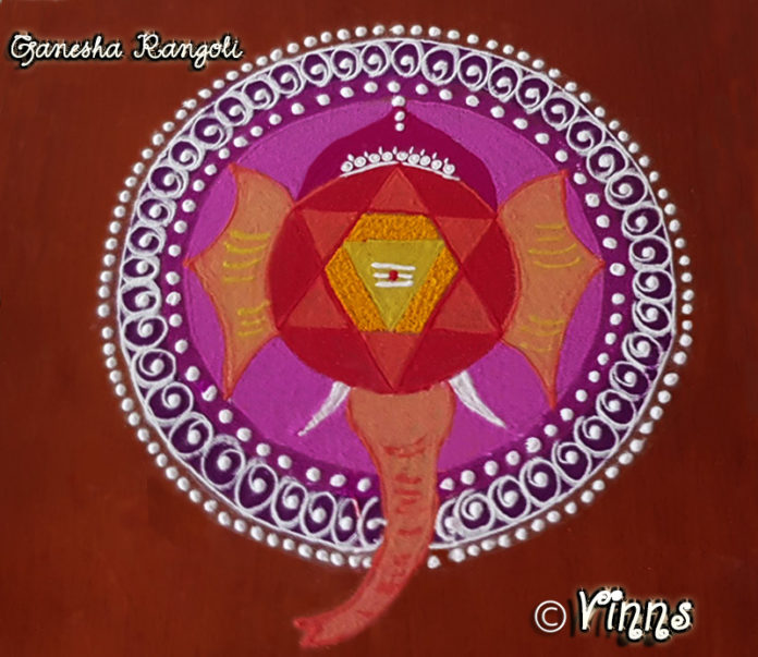 vinayagar_chathurthi_ganesha_Pillaiyar_ganapathy_kolam